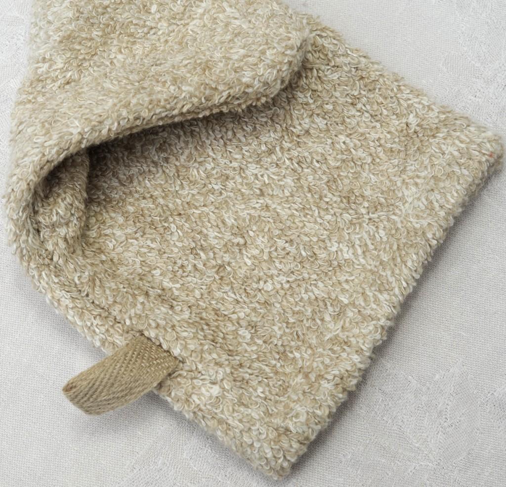 Waschhandschuh Leinenfrottée col. 3 soft - mitt linenterry col. 3 soft