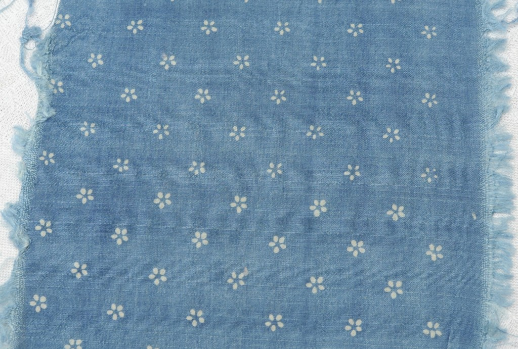 Seidenblaudruck, 100 % Seide, 90 cm - blueprint on silk 100 % silk 90 cm